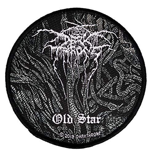 Darkthrone Old Star Aufnäher Patch Gewebt & Lizenziert !!