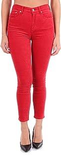 rag & bone Luxury Fashion Womens W285738NSRED Red Jeans | Season Outlet