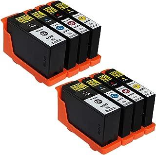 ESTON 8 Pack 100XL High Yield Ink Cartridges for Lexmark Prevail Pro705 Prospect Pro205 Printer