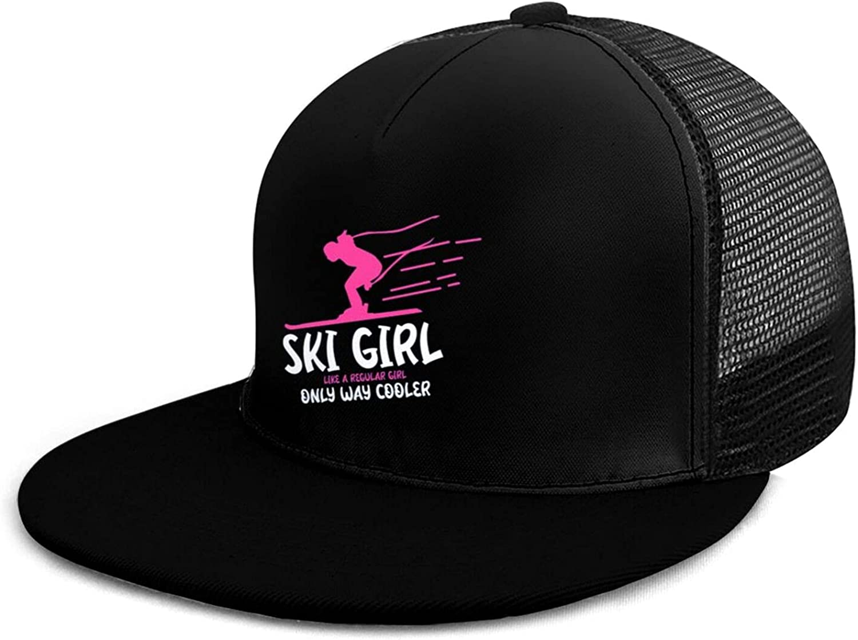 ZKWW Ski Girl Like A Free Shipping New Regular Baseball New popularity Cooler Flat Way Only