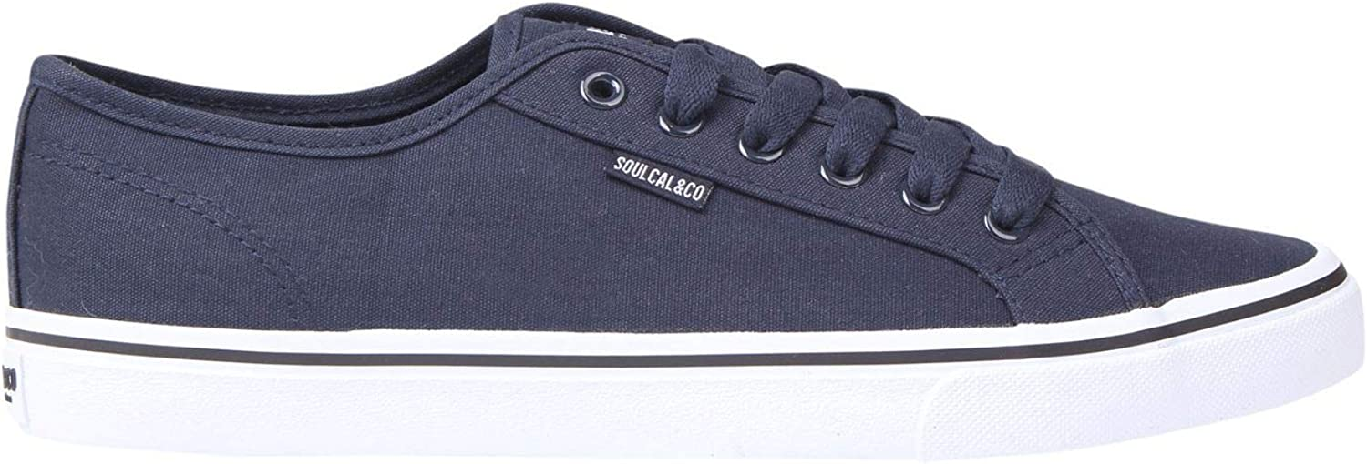 SoulCal Sunrise LC Canvas shoes Mens Footwear Trainers Sneakers