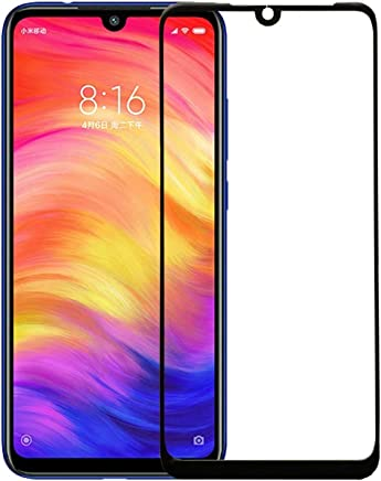 WOW Imagine Full Glue 5D Full Edge-to-Edge Screen Protection Tempered Glass for XIAOMI MI Redmi Note 7- Black
