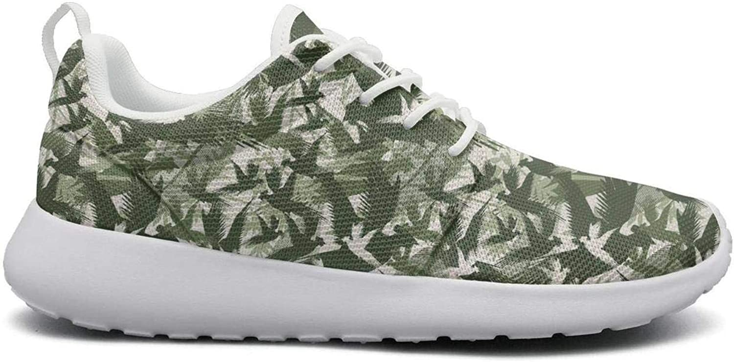 Wuixkas Camo Camouflage Animal Collage Womens Lightweight Mesh Sneakers Comfortable Sports shoes