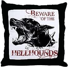 FiuFgyt Supernatural Hellhound Decoration Pillow Cover 18 x 18 Canvas Pillow Case Zipper