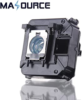 V13H010L68/ELP LP68 Distinctive Quality Replaceable lamp with Generic housing for EPSON Projector H421A H450A HC3010 HC3010E HC3020 HC3020E EH-TW5900 EH-TW5910 EH-TW6000 EH-TW6100 by Masource