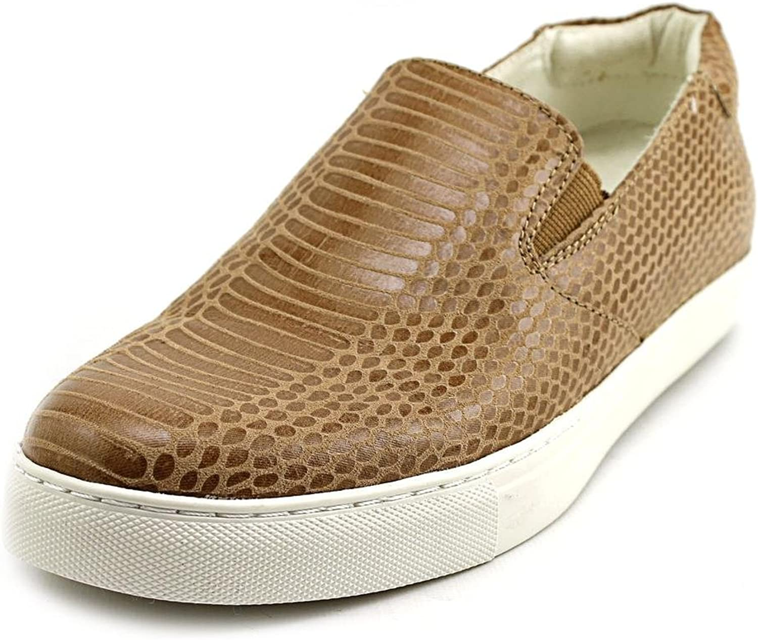 Kenneth Cole Womens Kit Sy Loafer Sneaker shoes Camel (9.5)