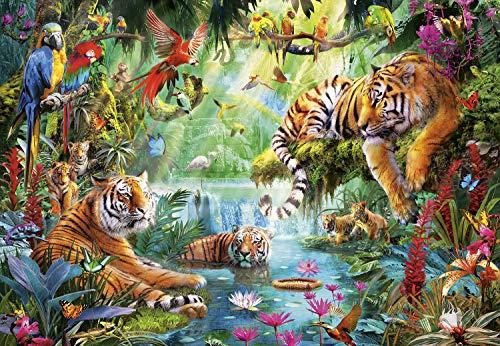 Buffalo Games - Tiger Lagoon - 2000 Piece Jigsaw Puzzle