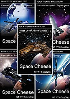 Space Freeze Dried Cheese 5 Count (Variety)