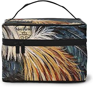 UnstnOhss Cock Rooster Toiletry Bag Multifunction Cosmetic Bag Portable Makeup Pouch Waterproof Travel Storage Organizer Bag for Women Girls