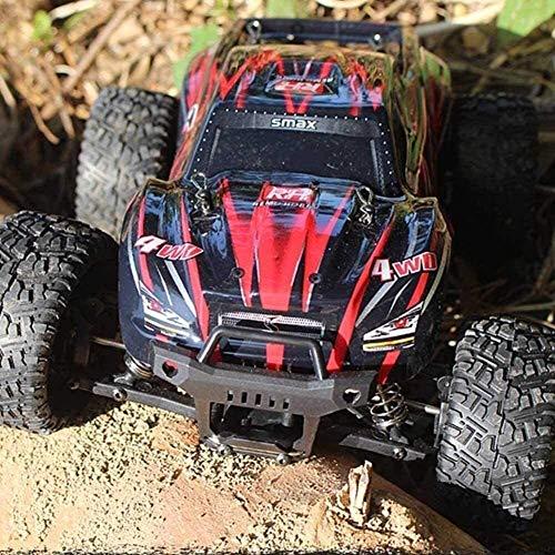Bck 1: 16 Elektro-Monster-LKW-Ferngesteuertes Auto 2.4 Ghz 4WD Climbing Car Hohe Tarnung Off-Road RC Car 90 Km/H High-Speed-Rc Auto-Liebhaberei-Spielzeug-Geschenk for Erwachsene und Kinder