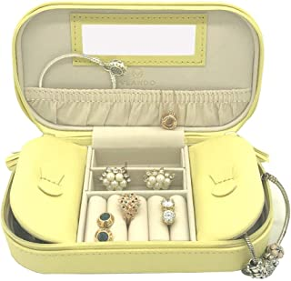 yellow jewelry box