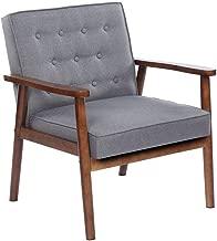Best retro grey armchair Reviews