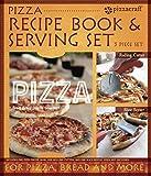 Set de servir y libro de recetas de pizzas
