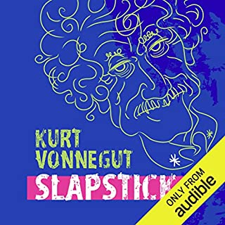Slapstick audiobook cover art
