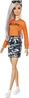 Barbie FBR37 Fashionistas Doll, Orange