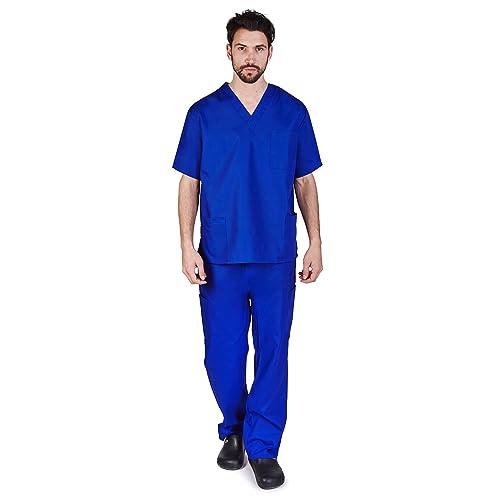 e71d53e2a9b M&M SCRUBS Men Scrub Set Medical Scrub Top and Pants