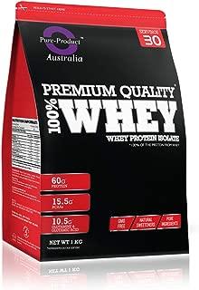 Pure Product Australia Whey Protein Isolate Powder, Vanilla 1 kilograms