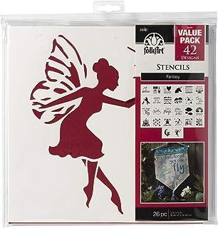 FolkArt Fantasy Value Stencil Pack