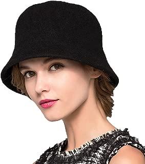 Trade; Women's Simple Wool Felt Bucket Hat