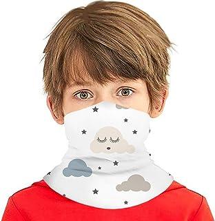 Verctor Sleepy Clouds Kid Abstrac Face Cover Bufanda Bufanda Bandanas Polaina para el Cuello para niños