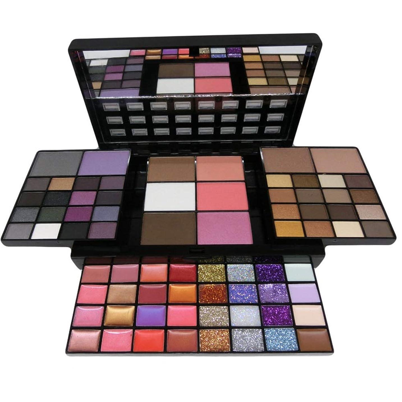 スコットランド人絶対に人に関する限りMakeup Set Box 74 Color Makeup Kits For Women Combination Kit Eyeshadow Lipstick Glitter Cheek Blush Concealer Bronzer Highlighter Contour Cosmetic set メイクアップセットボックス74カラーメイクアップキット女性用コンビネーションキットアイシャドウリップスティックキラキラチークブラッシュコンシーラーブロンザーハイライターコンターメイクブラシ