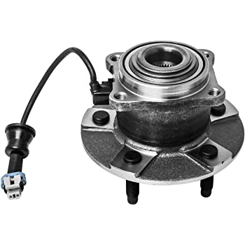 Rear Wheel Bearing and Hub Assembly Compatible 2005-2006 Chevrolet Equinox 2006 Pontiac Torrent 02-07 Saturn Vue Pair 5 Lug W//ABS TUCAREST 512229 x2