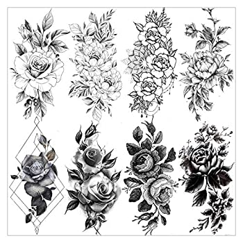 Best black and white tattoo Reviews