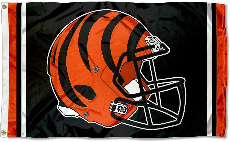 Cincinnati Bengals New Helmet Grommet Pole Flag