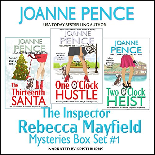 The Inspector Rebecca Mayfield Mysteries: Box Set 1 audiobook cover art