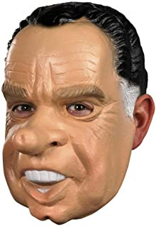 President Richard Nixon Deluxe Political Vinyl Adult Mask Costume Accessory