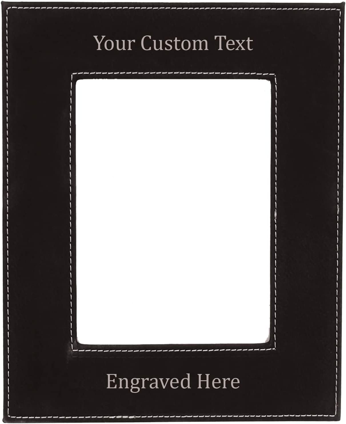 Personalized online shop Picture Frame - Custom Engraved Photo Leatherette F Cash special price
