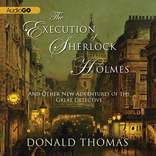 The Execution of Sherlock Holmes: audiobook cover art