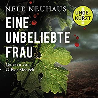 Eine unbeliebte Frau     Bodenstein & Kirchhoff 1              By:                                                                                                                                 Nele Neuhaus                               Narrated by:                                                                                                                                 Oliver Siebeck                      Length: 11 hrs and 55 mins     4 ratings     Overall 4.0