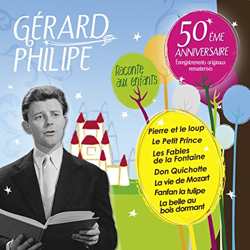 Gérard Philipe raconte aux enfants audiobook cover art