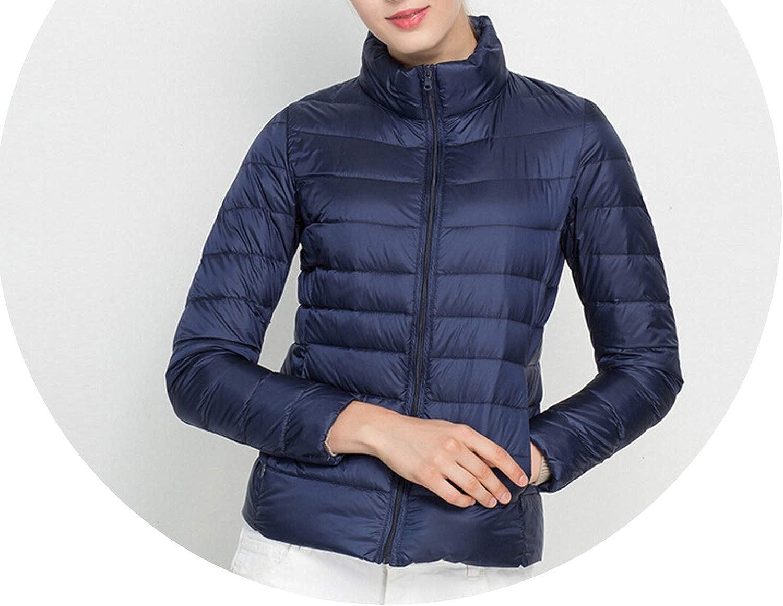 Women Coat Winter 90% White Duck Down Jacket 16 colors Warm Slim Down Coat S3Xl