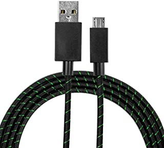 Microsoft Xbox One Elite Controller OEM 9ft Braided MicroUSB Charging Cable