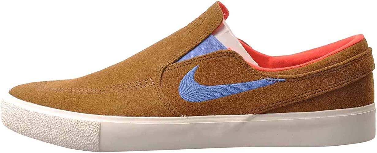 Nike SB Zoom Janoski Slip pour homme Marron clair - Marron ...