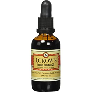 J. Crow's Lugol's Solution 2% - 2 fl oz