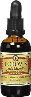 J. Crow's Lugol's Solution 2% - 2 fl oz