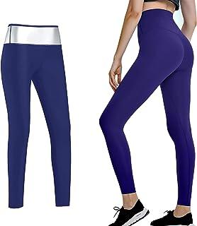 comprar comparacion Pantalones para Adelgazar,Pantalones Deportivos Mujer, Pantalón de Sudoración Adelgazar, Leggings Push Up, Mallas Termicos...