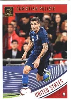 2018-19 Panini Donruss Soccer #170 Christian Pulisic United States Official Panini 2018-2019 Futbol RC Card