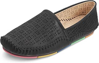 Tresmode Women Synthetic Leather Casual Slip-on Loafers/Moccasins