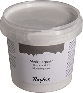 RAYHER HOBBY 38932000Pasta para modelar, Color Blanco, 0.95X 0.95X 0.85cm