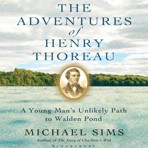 The Adventures of Henry Thoreau audiobook cover art