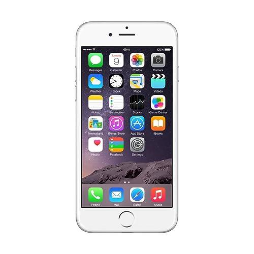 "Apple iPhone 6, Smartphone con única SIM, 11,9 cm (4.7""), 64 GB, 8 MP, iOS, 4GB, color Plata"