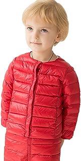 marc janie Girls Boys' Lightweight Packable Down Puffer Jacket