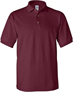 Gildan Men's Welt Collar Preshrunk 3-Button Polo Shirt