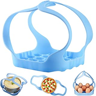 DK177 Pressure Cooker Sling Silicone Bakeware Sling for Instant Pot Compatible with 6 Qt/8 Qt Instant Pot and Other Brand Multi Function Cookers