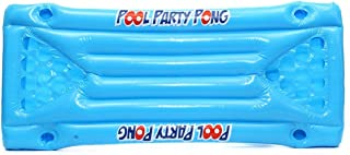 MEXCO Inflatable Beer Pong Float Table Swimming Pool Raft Lounge PVC Floating Raft with 24 Cup Holders for Pool Party Game