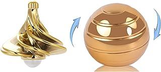 Kinetic Desk Toys, Full Body Illusion Rotating Ball, Kinetic Optical Illusion Balls, Tornado Spinning Tops, Airflow Spinni...